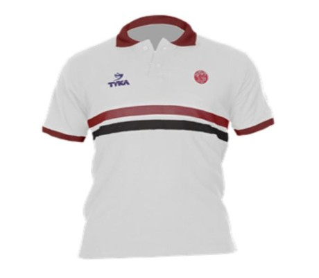 Somerset County Cricket C NEW Somerset CCC White Tyka Club Polo Shirt